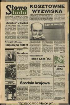 Słowo Ludu,1993 R.XLIV, nr 175 (wydanie radomskie)