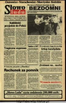 Słowo Ludu,1993 R.XLIV, nr 178 (Ostrowiec-Starachowiece-Skarżysko-Końskie)