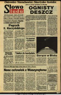 Słowo Ludu,1993 R.XLIV, nr 183 (Ostrowiec-Starachowiece-Skarżysko-Końskie)