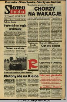 Słowo Ludu,1993 R.XLIV, nr 184 (Ostrowiec-Starachowiece-Skarżysko-Końskie)