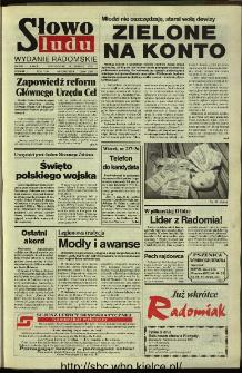 Słowo Ludu,1993 R.XLIV, nr 188 (wydanie radomskie)