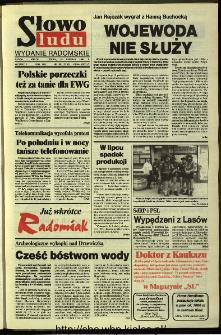 Słowo Ludu,1993 R.XLIV, nr 190 (wydanie radomskie)