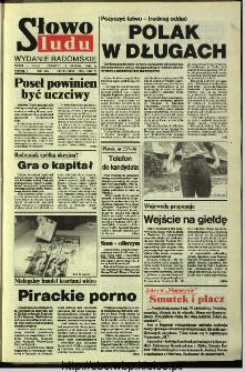Słowo Ludu,1993 R.XLIV, nr 191 (wydanie radomskie)