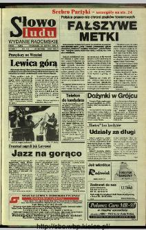 Słowo Ludu,1993 R.XLIV, nr 194 (wydanie radomskie)