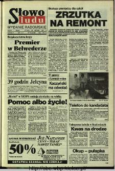 Słowo Ludu,1993 R.XLIV, nr 195 (wydanie radomskie)