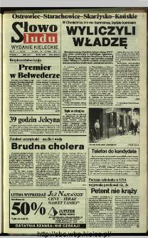 Słowo Ludu,1993 R.XLIV, nr 195 (Ostrowiec-Starachowiece-Skarżysko-Końskie)