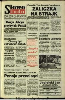Słowo Ludu,1993 R.XLIV, nr 196 (wydanie radomskie)