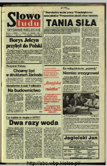 Słowo Ludu,1993 R.XLIV, nr 196