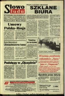 Słowo Ludu,1993 R.XLIV, nr 197 (wydanie radomskie)