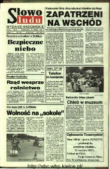 Słowo Ludu,1993 R.XLIV, nr 200 (wydanie radomskie)