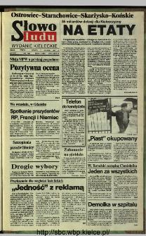 Słowo Ludu,1993 R.XLIV, nr 201 (Ostrowiec-Starachowiece-Skarżysko-Końskie)