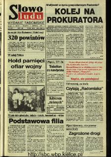 Słowo Ludu,1993 R.XLIV, nr 203 (wydanie radomskie)
