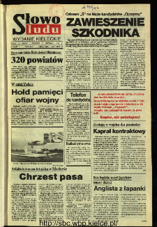 Słowo Ludu,1993 R.XLIV, nr 203