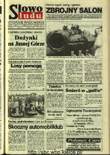 Słowo Ludu,1993 R.XLIV, nr 206 (wydanie radomskie)