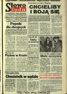 Słowo Ludu,1993 R.XLIV, nr 207 (Ostrowiec-Starachowiece-Skarżysko-Końskie)