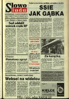 Słowo Ludu,1993 R.XLIV, nr 208 (wydanie radomskie)