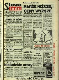 Słowo Ludu,1993 R.XLIV, nr 209 (wydanie radomskie)