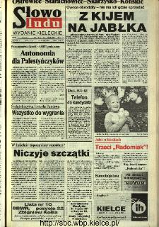 Słowo Ludu,1993 R.XLIV, nr 213 (Ostrowiec-Starachowiece-Skarżysko-Końskie)