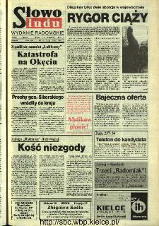 Słowo Ludu,1993 R.XLIV, nr 214 (wydanie radomskie)