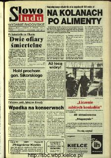 Słowo Ludu,1993 R.XLIV, nr 215 (wydanie radomskie)