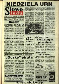 Słowo Ludu,1993 R.XLIV, nr 218 (wydanie radomskie)
