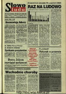 Słowo Ludu,1993 R.XLIV, nr 220 (wydanie radomskie)