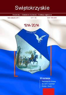 Świętokrzyskie - Środowisko, Dziedzictwo Kulturowe, Edukacja Regionalna, nr 14 (18)