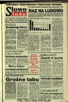 Słowo Ludu,1993 R.XLIV, nr 220 (Ostrowiec-Starachowiece-Skarżysko-Końskie)