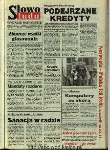 Słowo Ludu,1993 R.XLIV, nr 221 (wydanie radomskie)