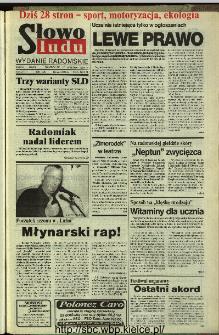 Słowo Ludu,1993 R.XLIV, nr 224 (wydanie radomskie)