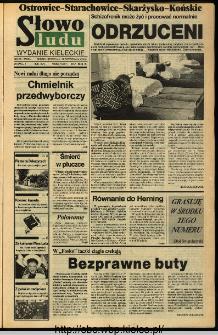 Słowo Ludu,1993 R.XLIV, nr 235 (Ostrowiec-Starachowiece-Skarżysko-Końskie)