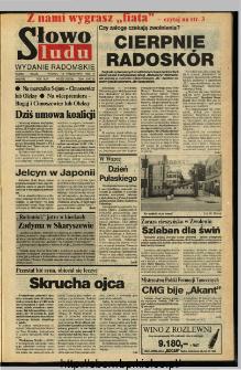 Słowo Ludu,1993 R.XLIV, nr 237 (wydanie radomskie)