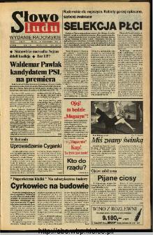 Słowo Ludu,1993 R.XLIV, nr 238 (wydanie radomskie)