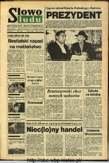 Słowo Ludu,1993 R.XLIV, nr 241 (wydanie radomskie)