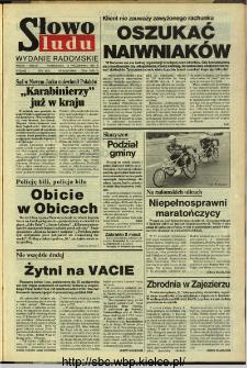 Słowo Ludu,1993 R.XLIV, nr 242 (wydanie radomskie)