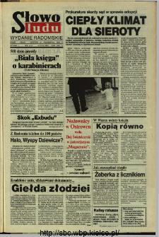 Słowo Ludu,1993 R.XLIV, nr 245 (wydanie radomskie)