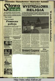 Słowo Ludu,1993 R.XLIV, nr 253 (Ostrowiec-Starachowiece-Skarżysko-Końskie)