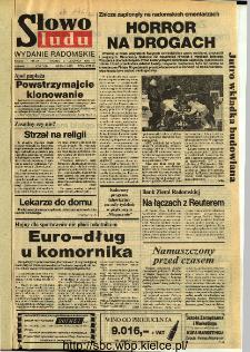 Słowo Ludu,1993 R.XLIV, nr 254 (wydanie radomskie)