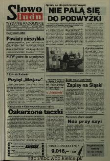 Słowo Ludu,1993 R.XLIV, nr 256 (wydanie radomskie)