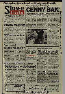 Słowo Ludu,1993 R.XLIV, nr 256 (Ostrowiec-Starachowiece-Skarżysko-Końskie)