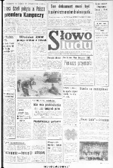 Słowo Ludu : organ Komitetu Wojewódzkiego Polskiej Zjednoczonej Partii Robotniczej, 1984, R.XXXV, nr 189