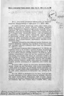 Dzieje Seminarium Nauczycielskiego w Jędrzejowie w l. 1872-1914