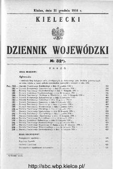 Kielecki Dziennik Wojewódzki 1934, nr 32