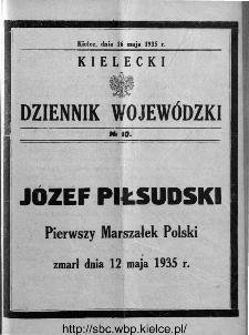 Kielecki Dziennik Wojewódzki 1935, nr 10