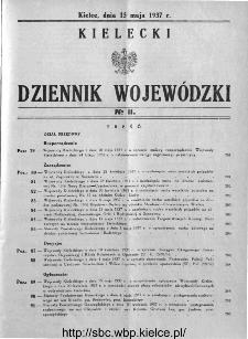 Kielecki Dziennik Wojewódzki 1937, nr 11