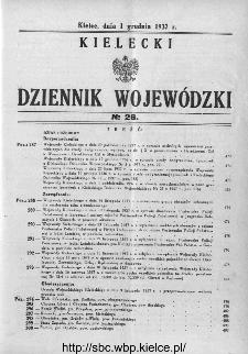 Kielecki Dziennik Wojewódzki 1937, nr 26