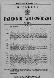 Kielecki Dziennik Wojewódzki 1937, nr 28