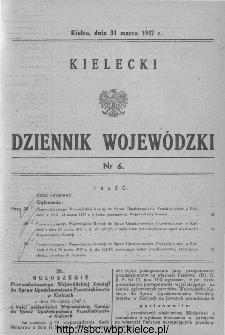 Kielecki Dziennik Wojewódzki 1947, nr 6