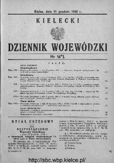 Kielecki Dziennik Wojewódzki 1948, nr 16