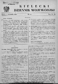 Kielecki Dziennik Wojewódzki 1950, nr 11